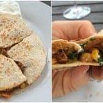 clean eating southwest quesadilla