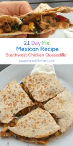 21 day fix quesadilla recipe