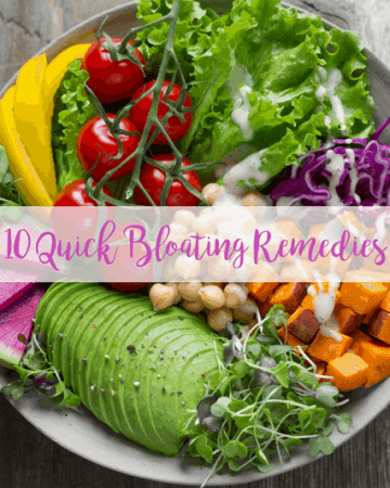 quick bloating remedies