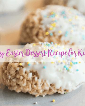 kids Easter dessert recipe