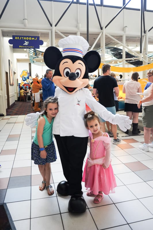 Mickey at Chef Mickey's