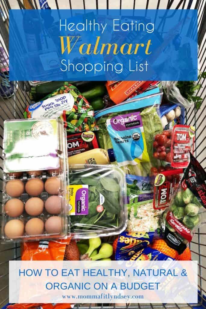 Healthy foods to buy at walmart