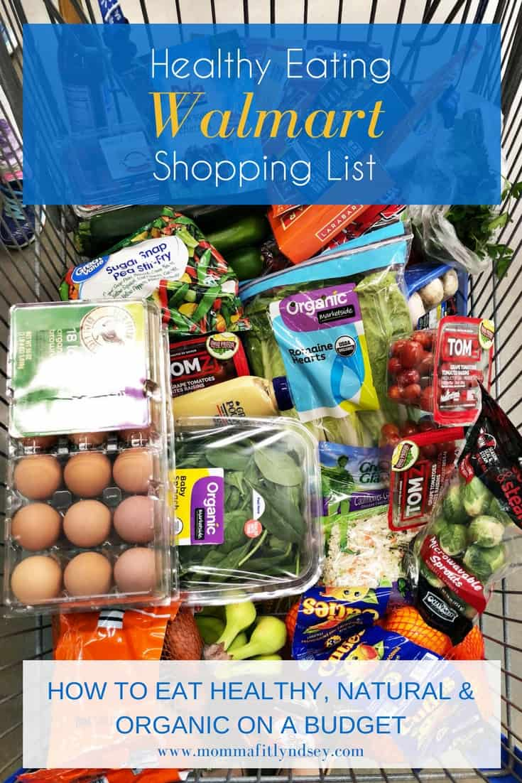 Healthy foods to buy at walmart