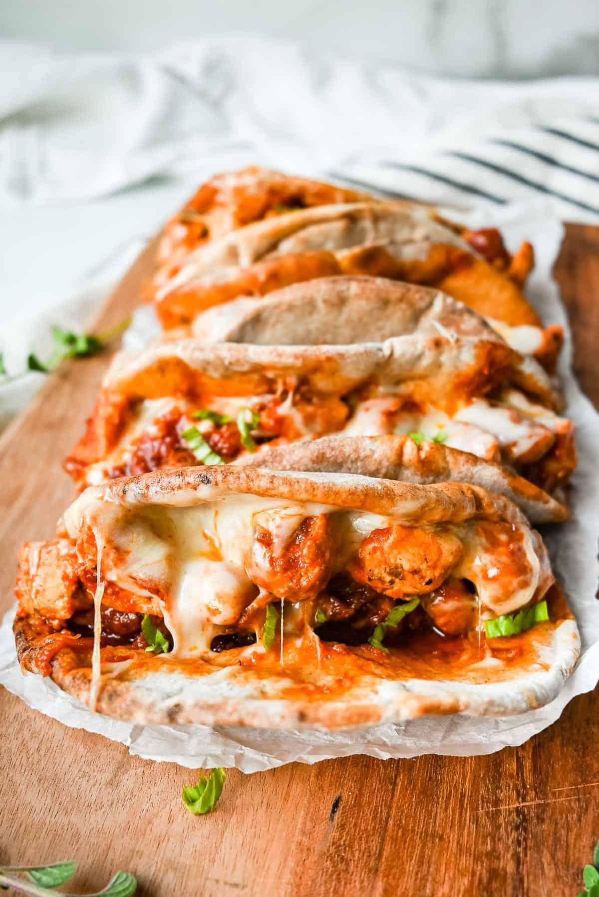 instant pot chicken parmesan sandwiches