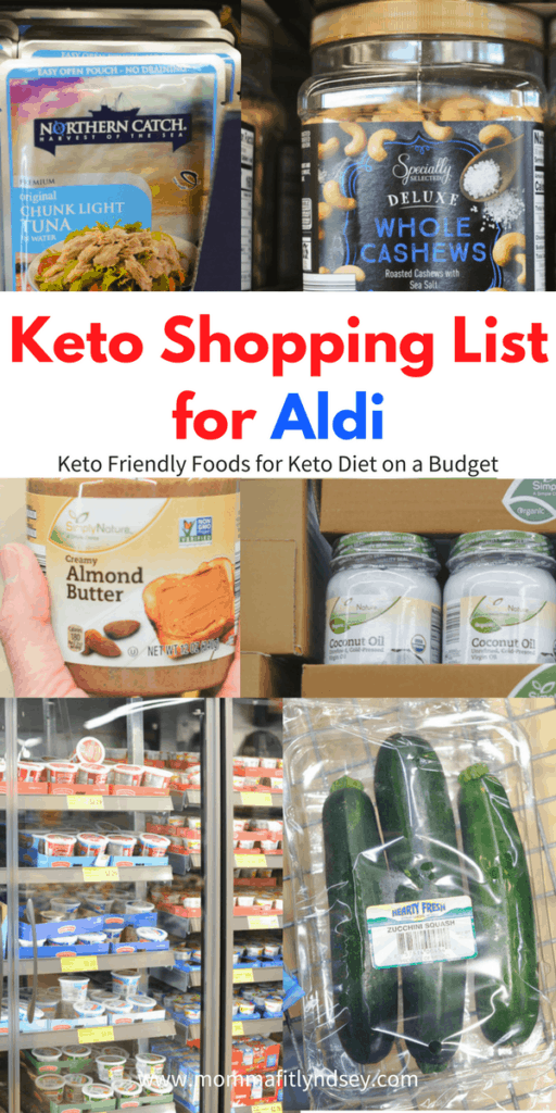 keto on a budget at Aldi including the best Aldi items for ketogenic diet