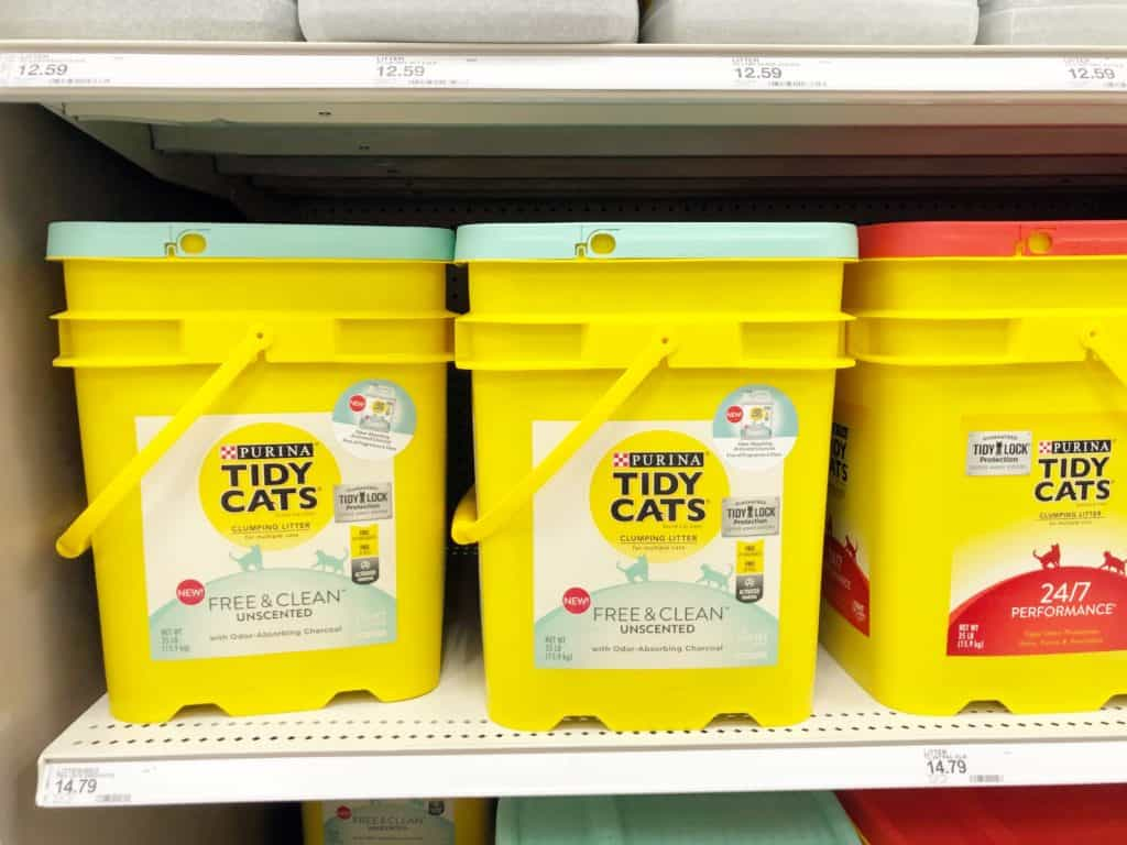 tidy cats litter unscented