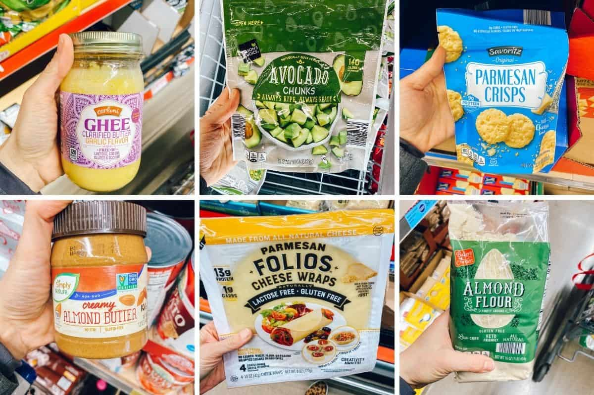 low carb products at aldi