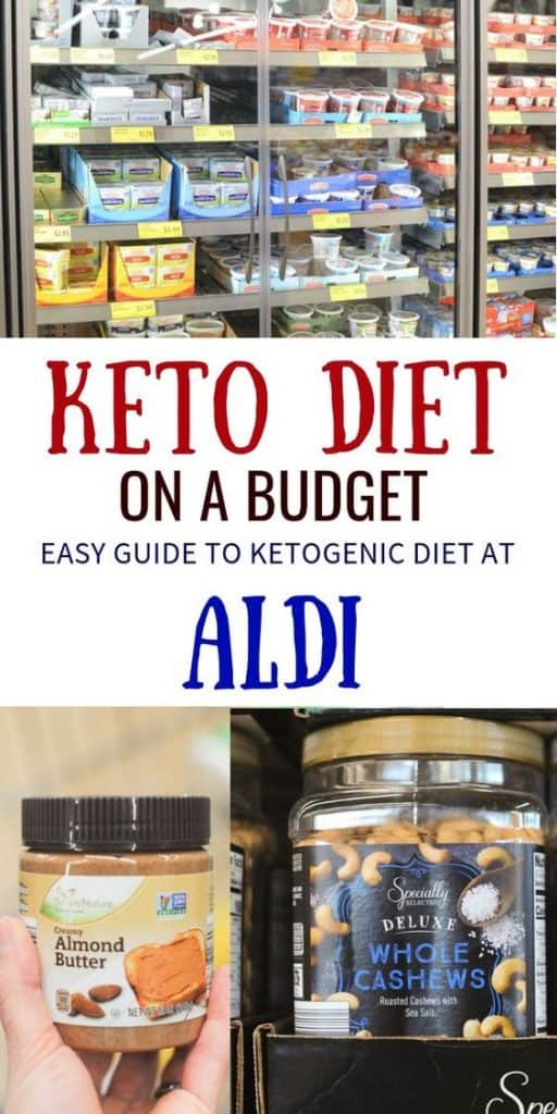 keto on a budget at aldi with shopping list and meal plan for beginners for ketogenic diet