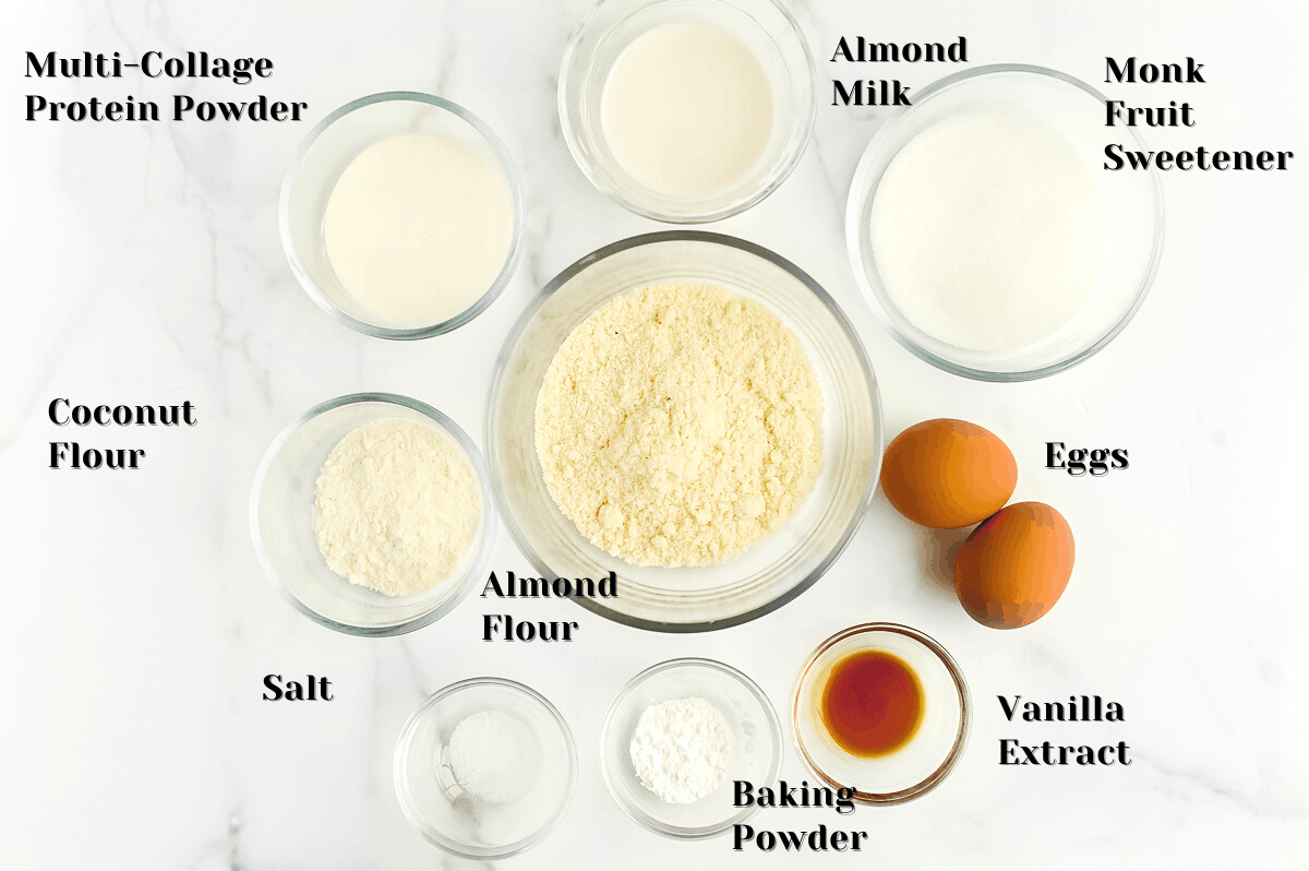these are the ingredients you need to make low carb donuts