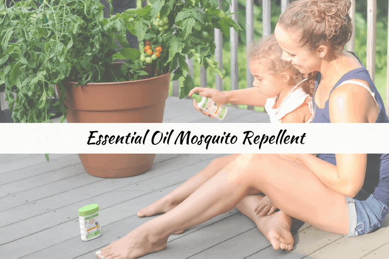 natural products for your family to repel mosquitoes