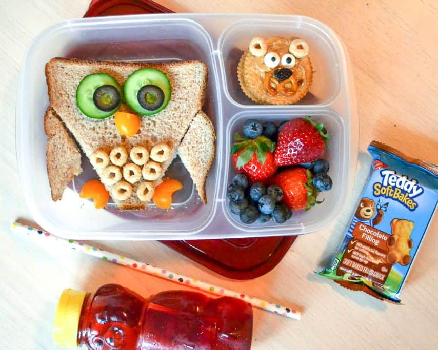 cute and healthy school lunches for kids