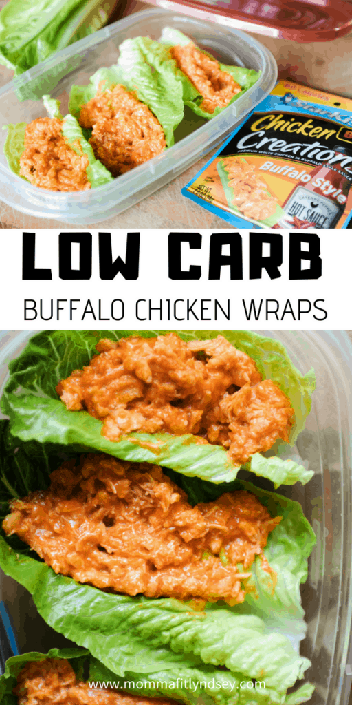 low carb lunch wraps are an easy healthy lunch