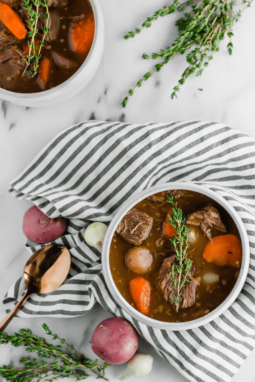 Make ahead soups to freeze for the week. Healthy ideas for weeknight dinners for a crowd.