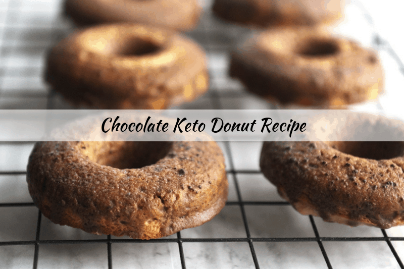 chocolate keto donuts recipe are an easy yummy keto snack