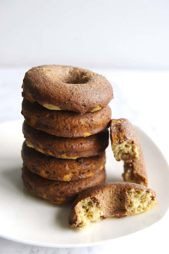 chocolate keto donuts are an easy keto breakfast recipe