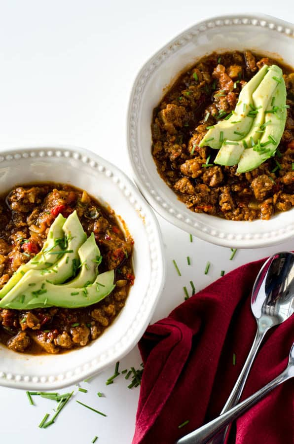 healthy chili recipe for quick weeknight meal