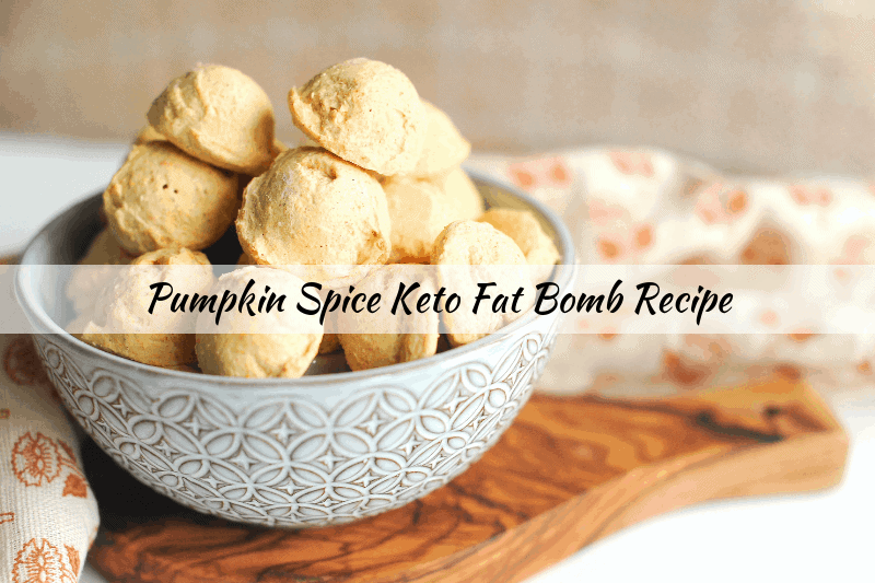 keto fat bomb recipe pumpkin spice cheesecake