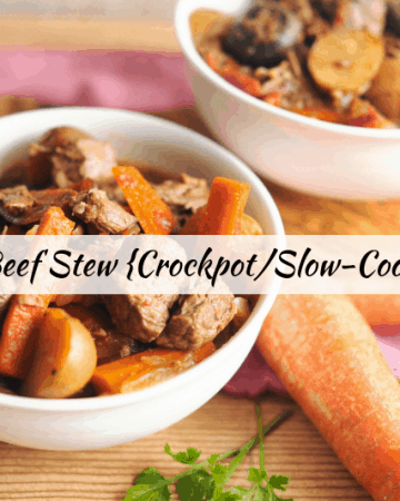 whole30 crockpot beef stew recipe for slow cooker or crockpot is an easy weeknight dinner meal idea