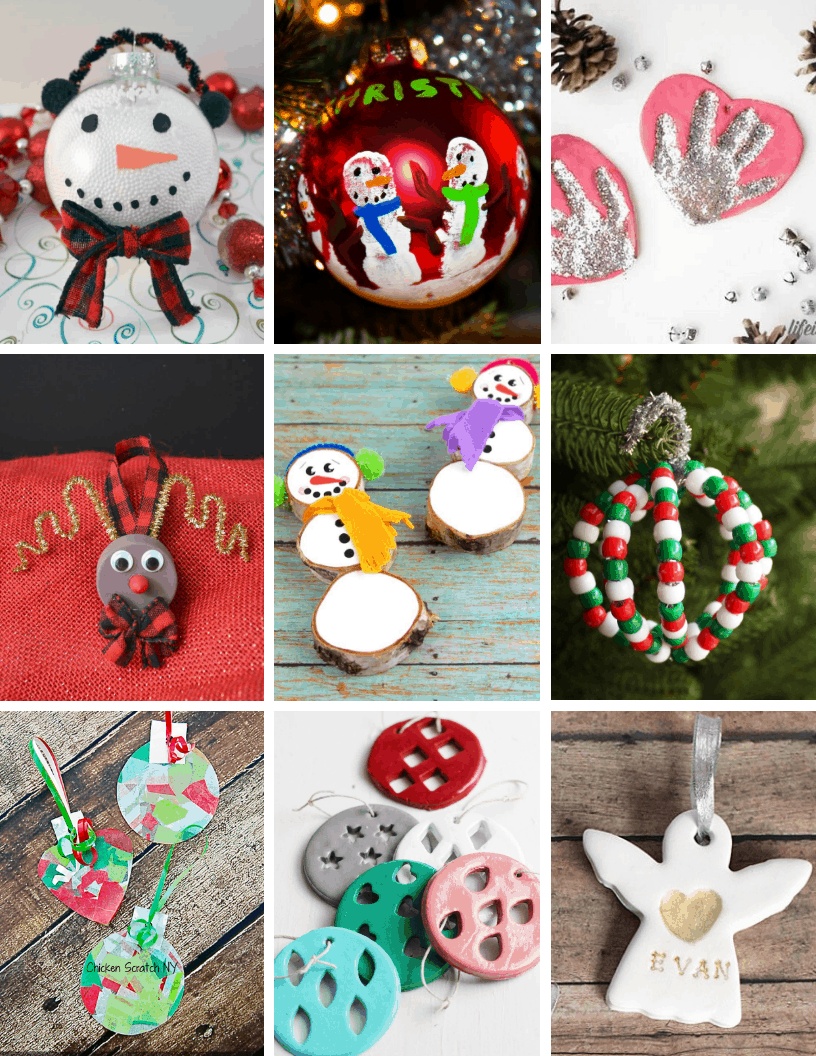 50 Easy Christmas Crafts For Kids Momma Fit Lyndsey
