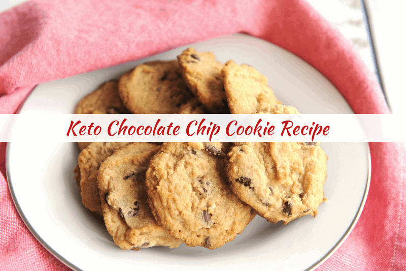 keto chocolate chip cookie recipe for keto baking at christmas