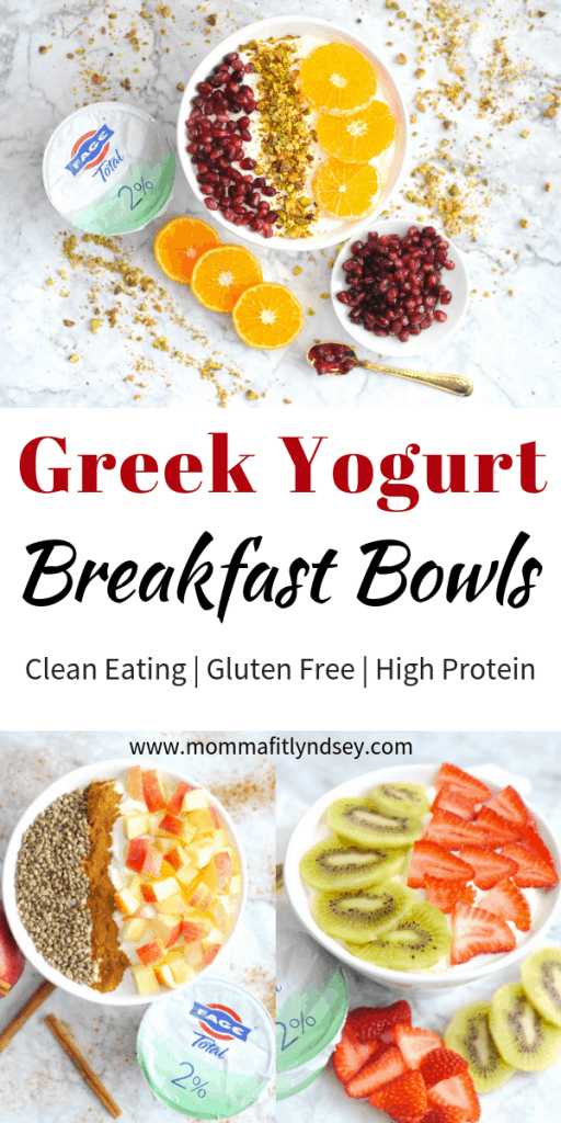 greek yogurt recipes and breakfast bowl recipes for quick healthy breakfast with high protein