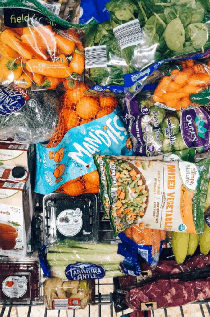 Get started with the Whole30 plan by downloading your free whole30 Aldi guide to doing whole30 on a budget! Free shopping list and meal plan!