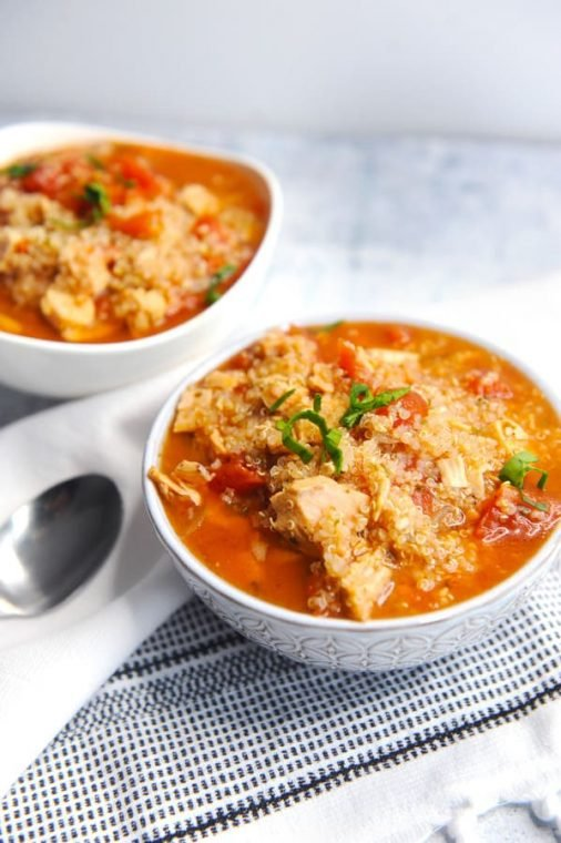 chicken These healthy instant pot recipes that will make healthy weeknight meals a breeze! Family friendly dinners like instant pot ground beef, chicken + more! italian soup is a gluten free healthy instant pot soup recipe for dinner