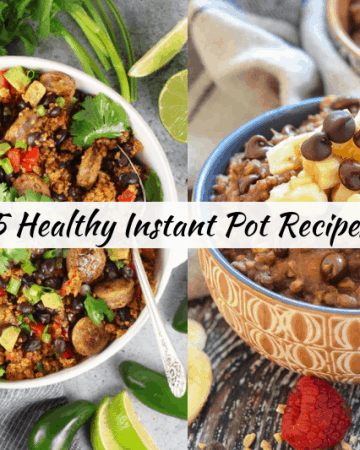 Lyndsey of Mommafitlyndsey.com shares the perfect EASY healthy instant pot recipes for dinner