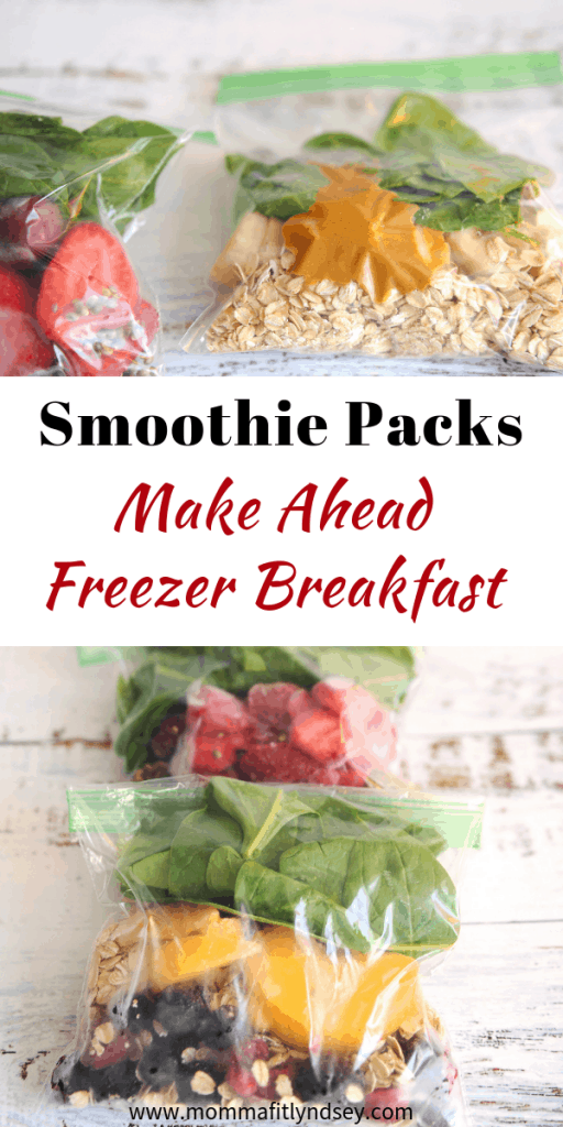 make ahead freezer breakfast for an easy healthy breakfast
