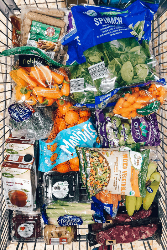 Looking to learn how to eat healthy and save money? healthy Lifestyle Blogger Momma Fit lyndsey is sharing her February meal plan to help you keep your grocery budget in line