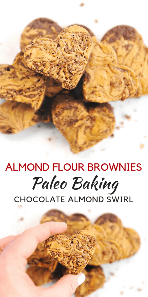 Looking for a delicious paleo brownie recipe? healthy Lifestyle Blogger Momma Fit lyndsey is sharing her best chocolate brownie with almond flour recipe