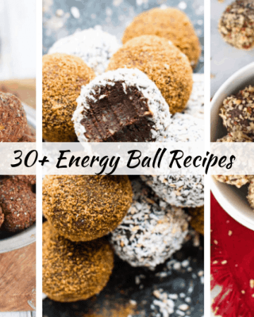 Looking for a easy energy ball recipes ideas? healthy Lifestyle Blogger Momma Fit lyndsey is sharing her favorite 30+ energy ball recipes
