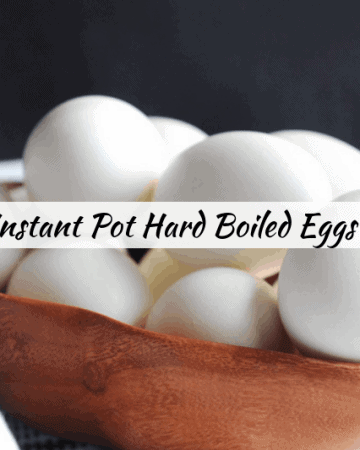 Looking for healthy easy meal prep recipes? Healthy lifestyle blogger Momma Fit Lyndsey shares her easy instant pot hard boiled eggs recipe