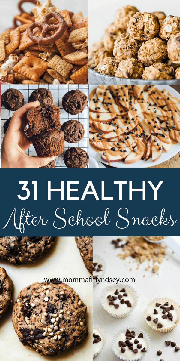 Looking for a healthy and easy after school snacks for kids and teens on the go? Healthy lifestyle blogger Momma Fit Lyndsey shares her favorite after school snack ideas