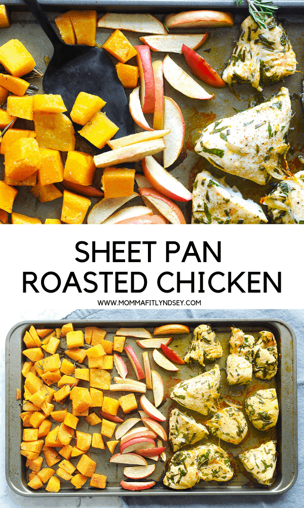 easy baked chicken recipe for sheet pan chicken is an easy weeknight meal that is healthy