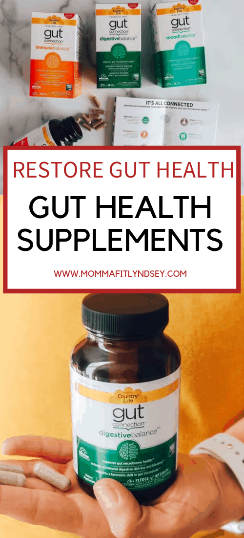 Gut health supplements can help to restore gut health.I started researching gut health a few years ago when I began to understand the link between gut health and so many parts of the body!