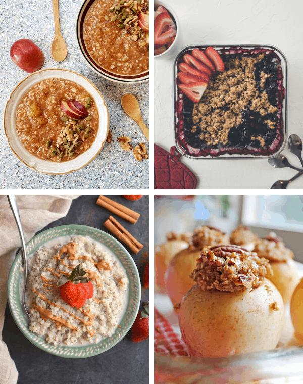 vegan oatmeal recipes for an easy plant based breakfast