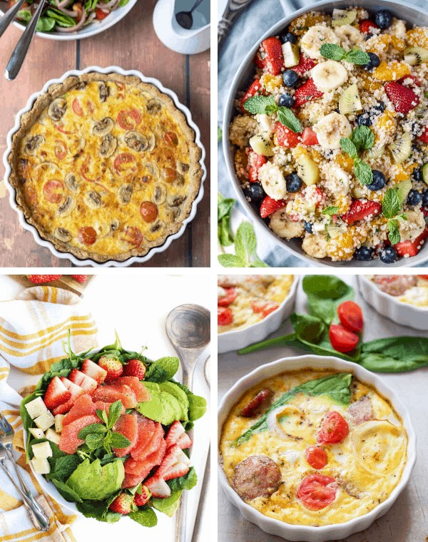 healthy easter brunch recipes for savory recipes like eggs, hash, paleo, whole30 keto ad low approved recipes for brunch or Easter dinner