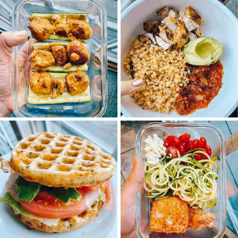 Need cheap keto lunch ideas? I'm showing you the easiest keto meal prep bowls and all of the tips and tricks for affordable keto lunches.