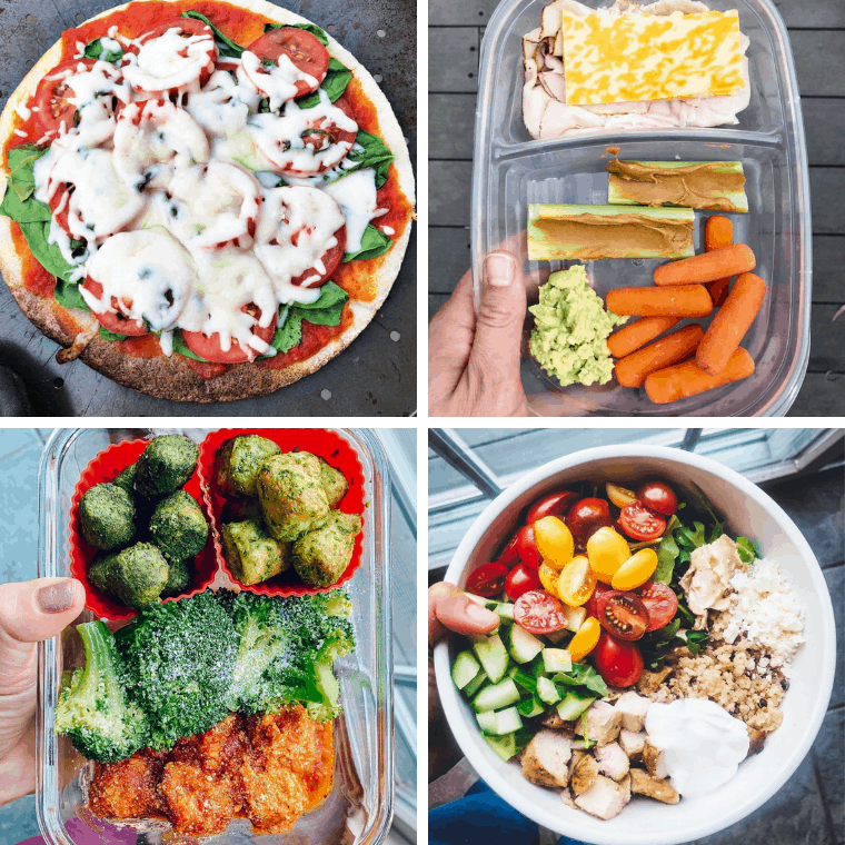 easy to prep healthy lunch ideas for teenagers to pack for school or work