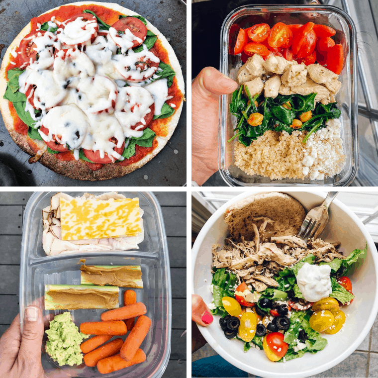 Lunch ideas for teens got you stumped? Healthy lunch meal prep is going to be made much easier when you are creating healthy cold lunch ideas your teens (and you!) will want to eat!