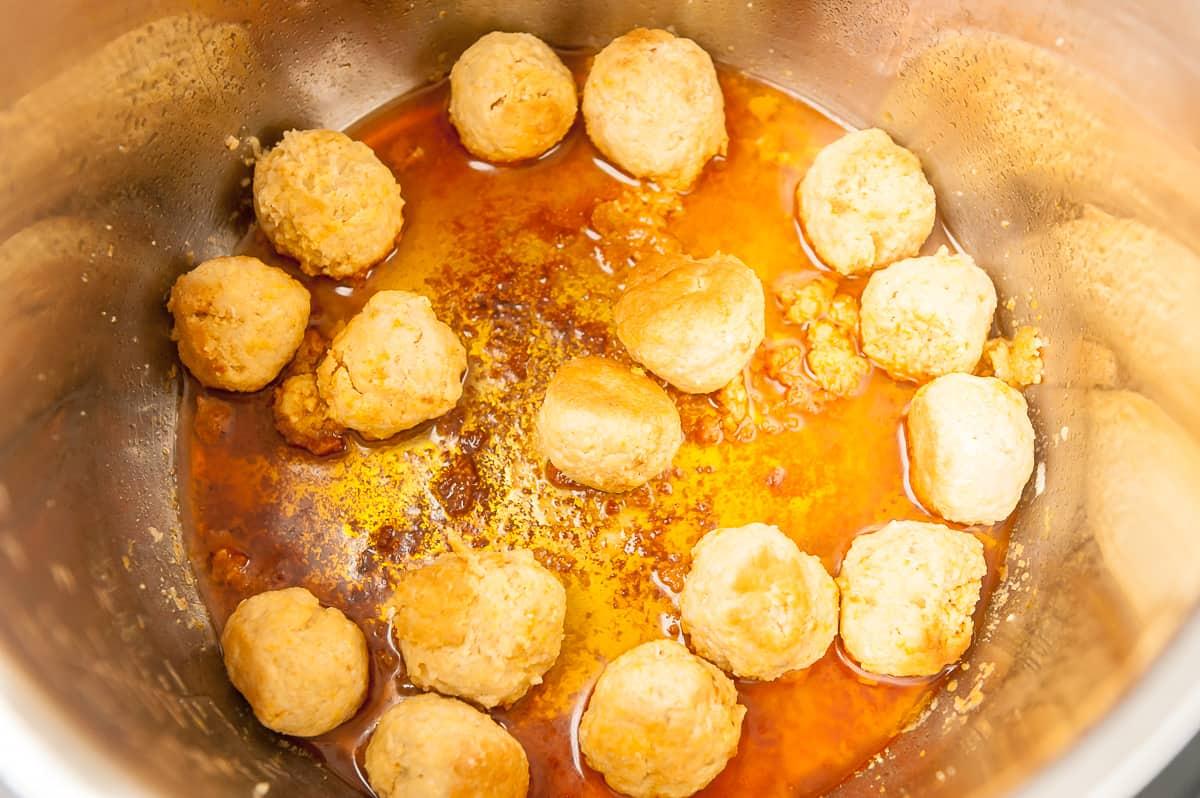 meatballs in instant pot