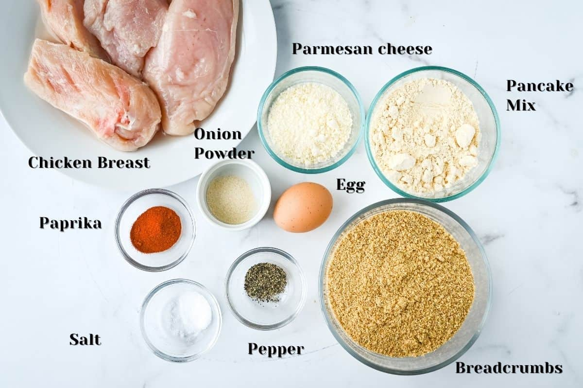 ingredients for making this recipe.