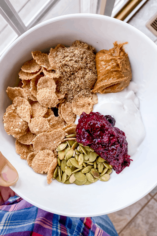 Seed cycling recipes like smoothies, yogurt bowls and seed cycling energy bites to help with seed cycling for hormone balance. This article explains seed cycling for beginners and gives you some easy seed cycling recipes to make the process easier.