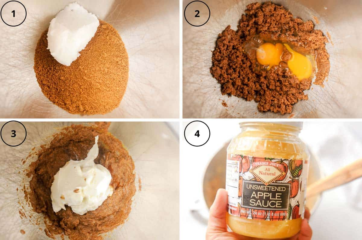steps for making healthy muffins