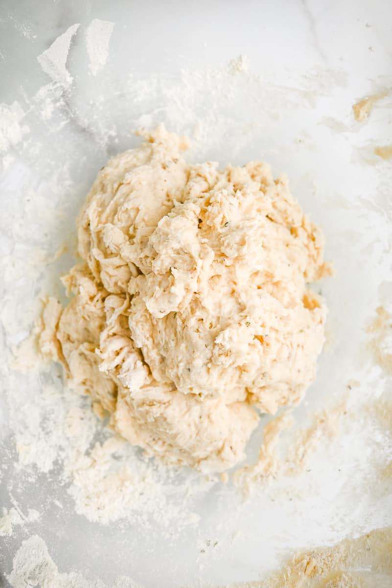 shaggy pizza dough