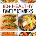 healthy family dinners
