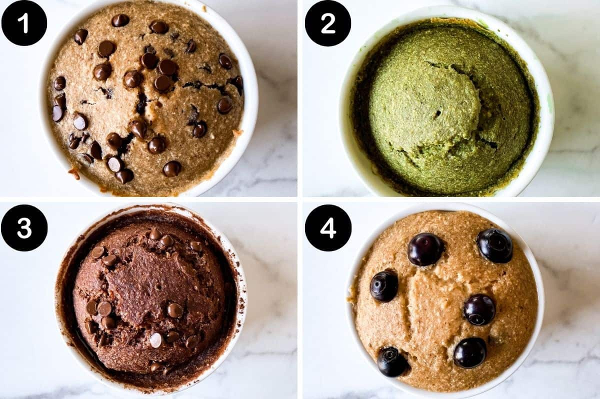 types of baked oats for one