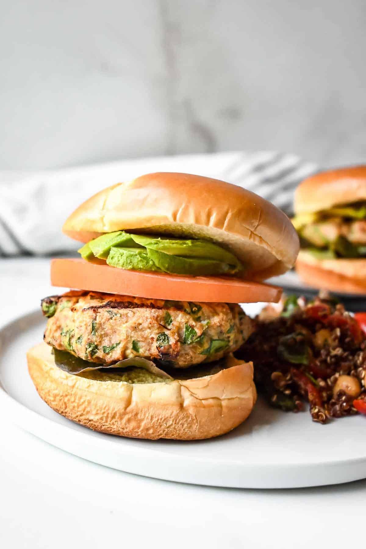 healthy grilled turkey burger recipe